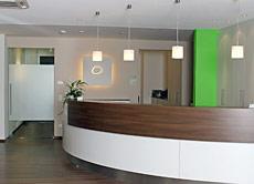 ALT: Rezeption - Praxisklinik der Chirurgie in Straubing - Dr. Zimny und Dr. Solleder in 94315 Straubing, Niederbayern